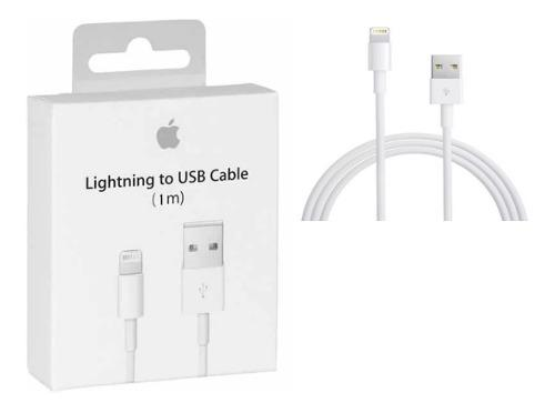 Cable Cargador Lightning Original iPhone 5/6/7/8/ X iPad