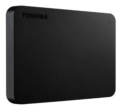 Disco Duro Externo 1tb Toshiba Canvio Basics Hdtb410xk3aa /v