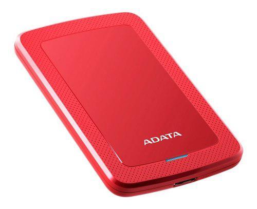 Disco Duro Externo 2tb Adata Slim Usb 3.1 Hv300 Rojo