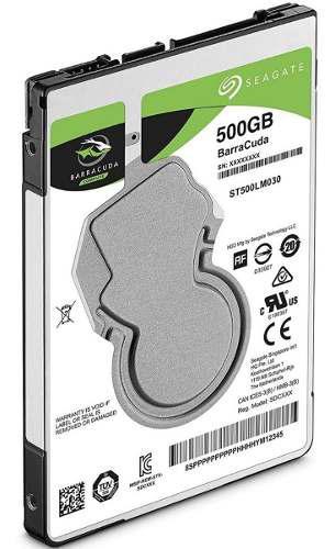 Disco Duro Laptop 500gb Sata Seagate 7mm 5400rpm St500lm030