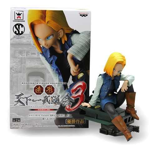 Figura De No. 18. Dragon Ball Z. Envio Gratis. Sculture.