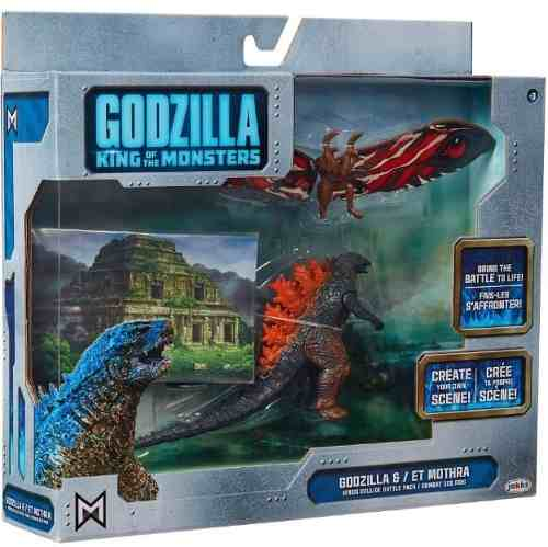 Godzilla King Of The Monsters Godzilla & Et Mothra