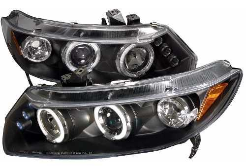 Honda Civic 2006 2011 Coupe Faros Ojo Angel Led 2008 2009