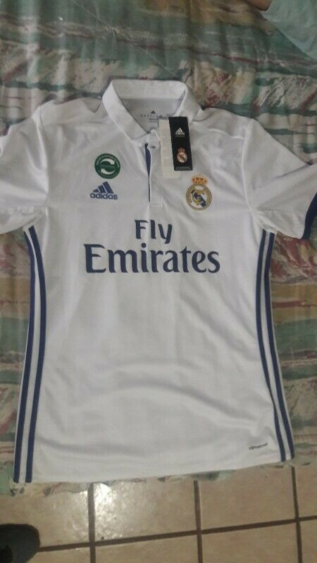 Jersey original del Real Madrid adidas