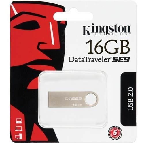 Kingston Memoria Usb Flash Data Traveler Se9 16gb Dtse9h