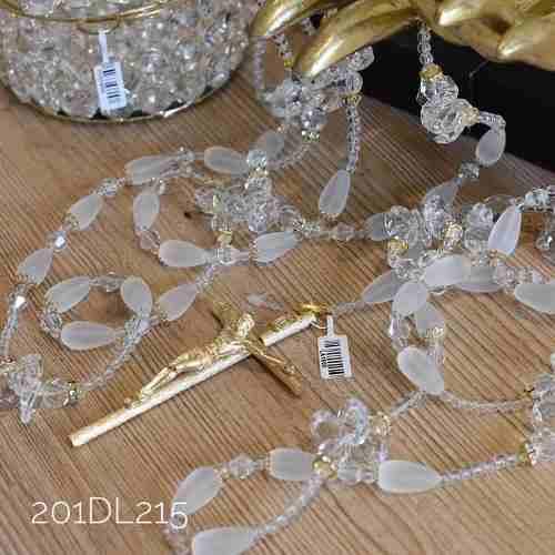 Lazo Matrimonial Boda Con Estuche Cristal Cortado 201d