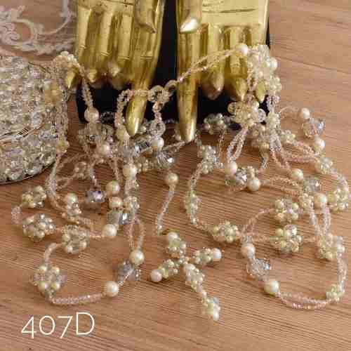 Lazo Matrimonial Boda Con Estuche Cristal Cortado 407d