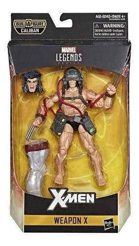 Marvel E Figura De Acción Marvel Legends X- Men Weapon
