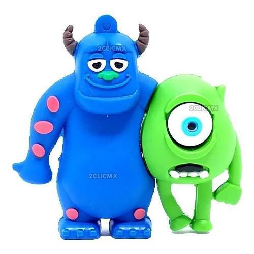 Memorias Usb Figuras Disney Zuly Y Mike Monster Inc