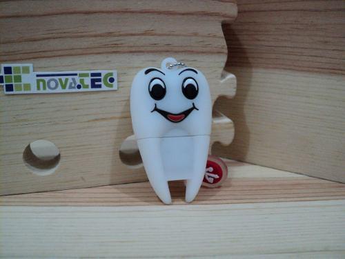 Muela Feliz Diente Dentista Memoria Usb 32 Gb