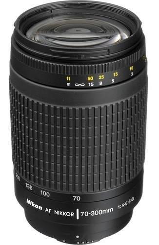 Nikon Lente Nikon Af Nikkor 70-300mm F/4-5.6g