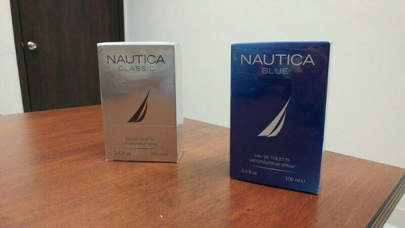 Perfume Náutica classic y Náutica blue