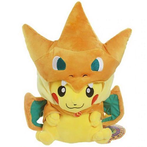 Pikachu Charizard Peluche Pokemon 23cm Envío Gratis