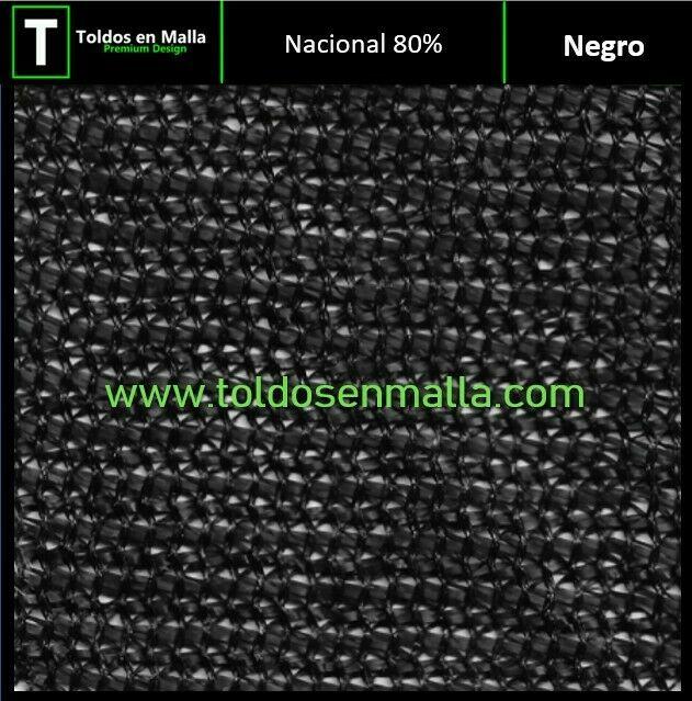 Rollos de Malla Sombra 80%