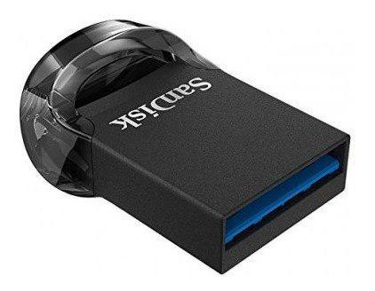 Sandisk Ultra Fit Memoria Usb,16gb, Usb 3.0, Negro Sdcz430-0