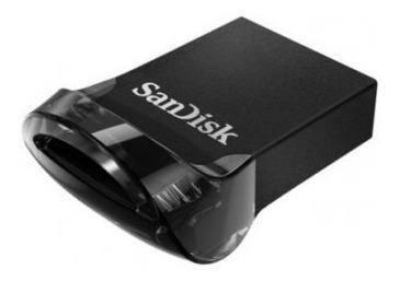 Sandisk Ultra Fit Memoria Usb,32gb, Usb 3.0, Negro
