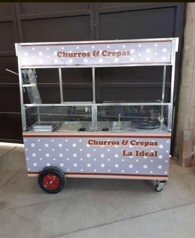 Se vende carrito de churros y crepas