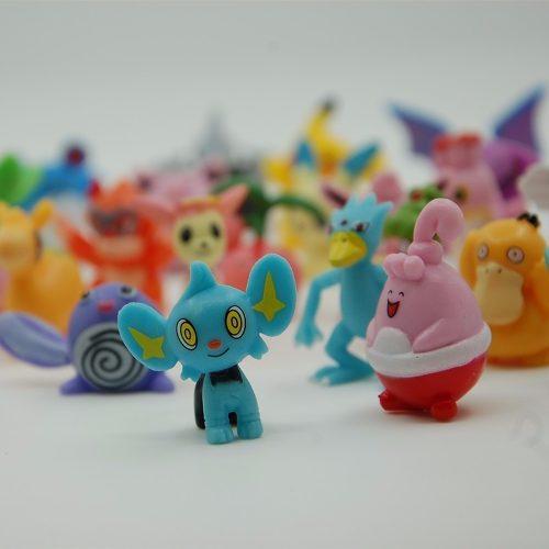 Set 24 Figuras Pokemon 2-3cm + 1 Figura 4-5cm, Envio Gratis