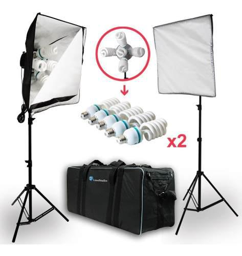 Softbox Caja De Luz Iluminacion Estudio Fotografico Omm