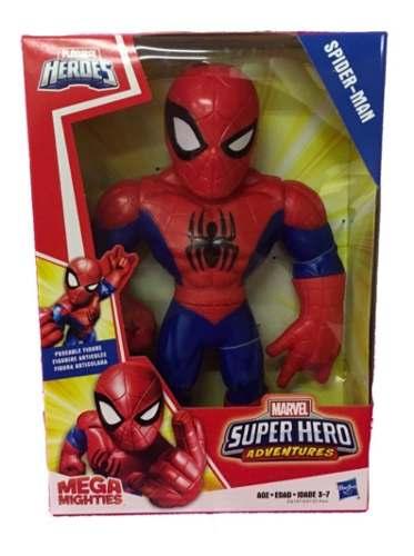 Spider Man Super Hero Adventure Mega Playskool Hasbro