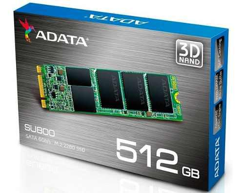 Ssd M.2 512gb Disco Duro Solido Adata Su800 2280 Laptop Pc