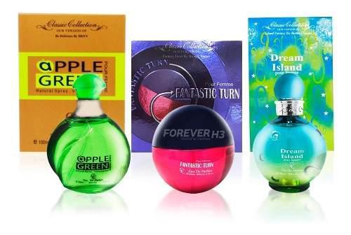10 Perfumes Todas Las Marcas Imitación Caja 100 Ml Mayoreo