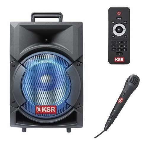 Bafle Recargable Bluetooth Usb Bocina 8 Pulgadas Ksr 5808