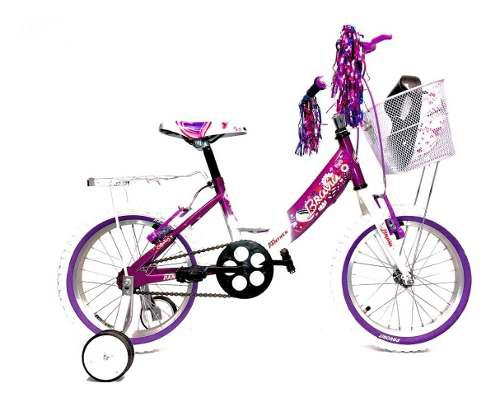 Bicicleta Infantil Bravia Niña Rodada 16 Ruedas