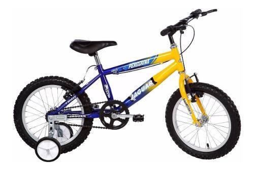 Bicicleta Para Niño Con Ruedas Entrenadoras Rodada 16