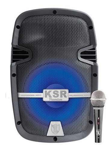 Bocina 8 Bluetooth Recargable Usb Sd Aux Fm Bafle Ksr 7908