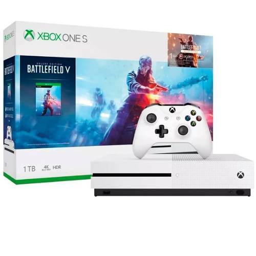 Consola Xbox One S 1tb Blu-ray 4k Bundle Battlefield V Nueva