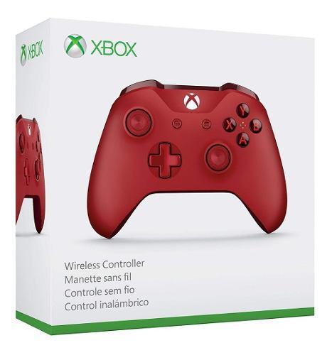 Control Inalambrico Original Xbox One Rojo (en D3 Gamers)