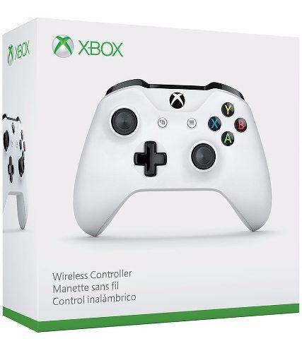 Control Inalámbrico Bluetooth Xbox One S Blanco Nuevo