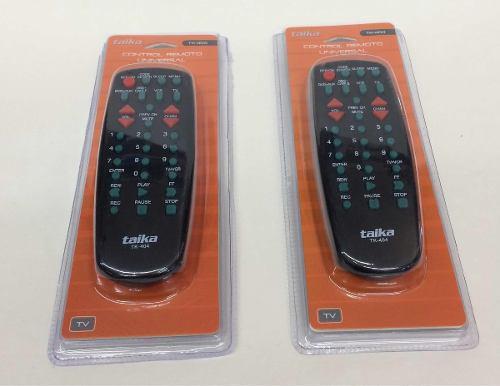 Control Remoto Universal Para Tv Marca Taika Tk-404