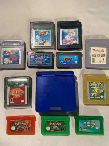 Game Boy Advance Sp Con Juegos