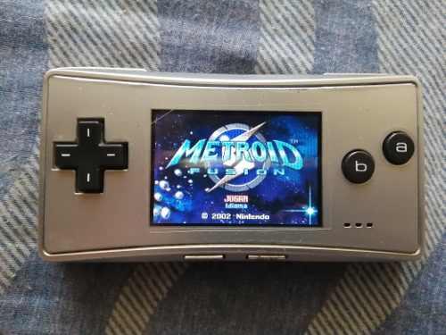 Gameboy Micro Japonés Con Estuche