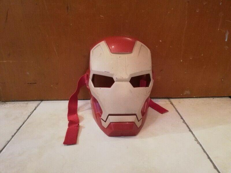 Iron man máscara careta de súper héroes Avengers