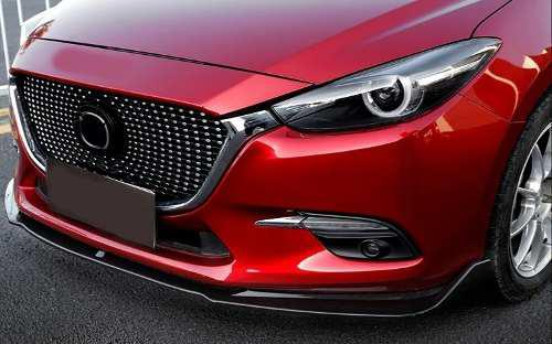 Lip Frontal Faldon Mazda 3 Hatchback Y Sedan 2014 - 2018 Mz3