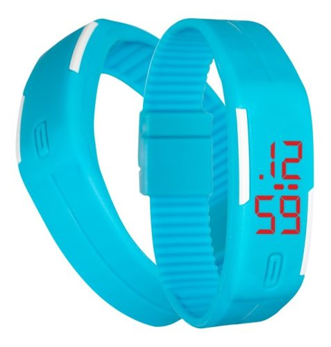 Reloj Touch Digital Deportivo De Pulsera Color Azul M
