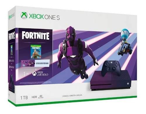 Xbox One S De 1 Tb Paquete Fortnite Battle Royale Edición