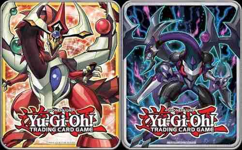 Yu Gi Oh Mega Tin  - Precio Por El Set De 2 Latas