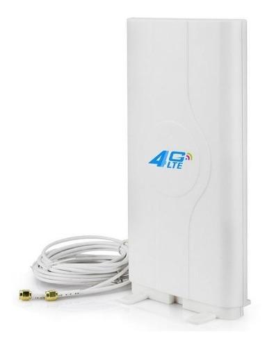 Antena Mimo Yagi 4g Lte Dual Huawei B310 Alcatel Zte 88dbi