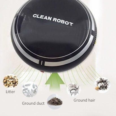 Aspiradora Automática Robot Inteligente Clean Robot