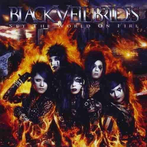 Cd Black Veil Brides Set The World On Fire 11 Canciones