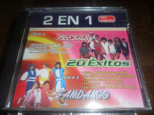 Cd Fresas Y Fandango 20 Exitos Nuevo