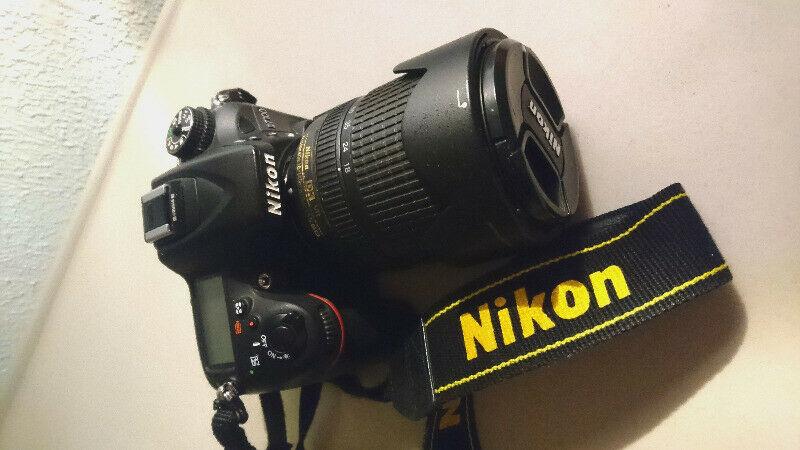 Cámara DLSR Nikon D con dos lentes