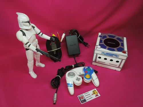 Consola Gamecube Personalizado De Star Wars