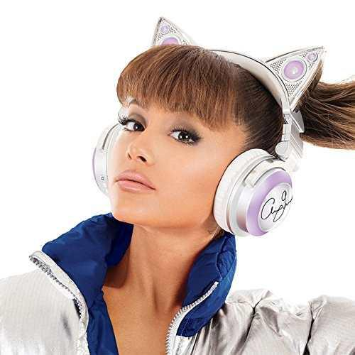 Ear Headphones Limited Edition Ariana Grande Gato Bluetooth
