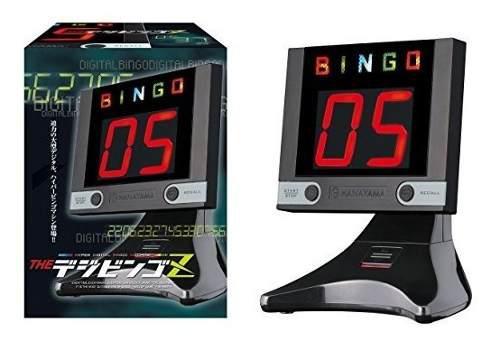 El Digbingo Z (negro) Bingo Electrónico De La Máquina Por