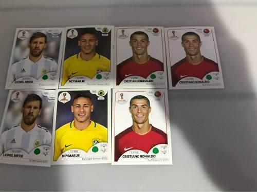 Estampas Del Mundial De Rusia  (cr7, Neymar)